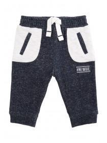 Baby Boys Dark Blue #Newbie Joggers