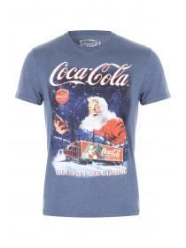 Mens Coca Cola Holidays Are Coming Tee