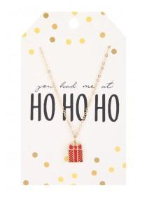 Womens Present Christmas Necklace