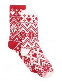 Womens 2pk Socks