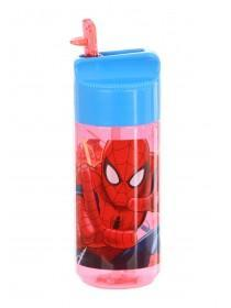 Younger Boys Red Spiderman Tritan Bottle