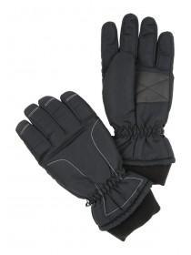 Mens Grey Ski Gloves