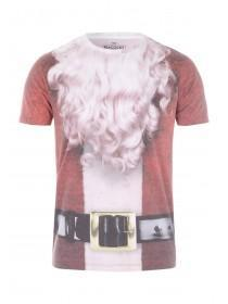 Mens Red Santa T-Shirt