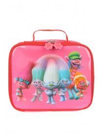 Girls Pink Trolls Lunch Bag