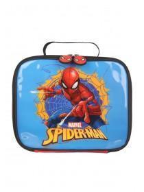 Boys Blue Spiderman Lunch Bag