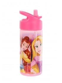 Girls Pink Disney Princess Water Bottle