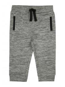 Baby Boys Grey Tricot Joggers