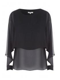 Womens Cape Sleeve Top