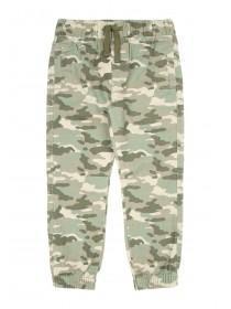 Younger Boys Khaki Camo Trousers