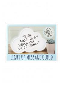 Womens Cloud Light Up Message Board