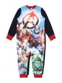 Boys Blue Marvel Onesie