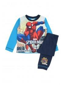 Younger Boys Blue Spiderman Pyjama Set