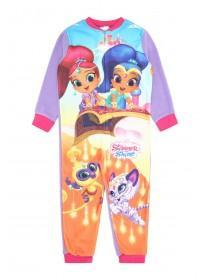 Girls Lilac Shimmer and Shine Onesie