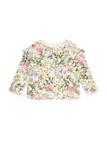 Younger Girls Floral Sweater
