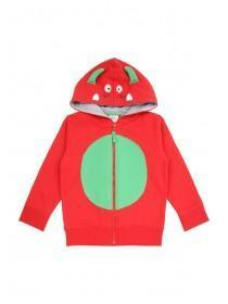 Younger Boys Red Dragon Hoody