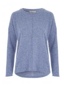 Womens Blue Cosy Top