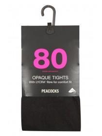 80 Denier Tights 1 Pack