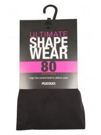 Womens 80 Denier Ultimate Shapewear Tights