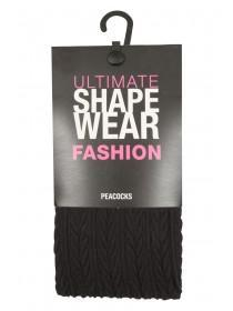 Womens Shapewear Cable Tights