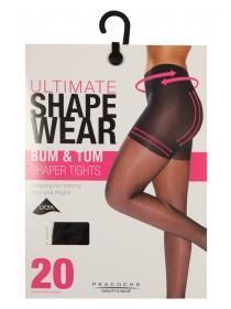 Womens Bum and Tum Shapewear Tights