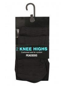 2Pk Sheer Knee High Tights