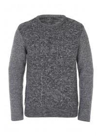 Mens Cable Knit Jumper