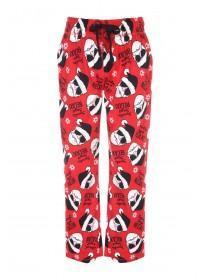 Mens Check Fleece Pyjama Bottoms