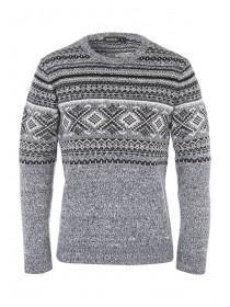 Mens Fairisle Knitted Jumper