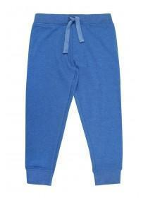 Younger Boys Mid Blue Basic Jogging Bottoms