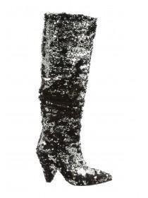 Womens Sequin Boots