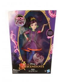 Descendants Light Up Mal Doll