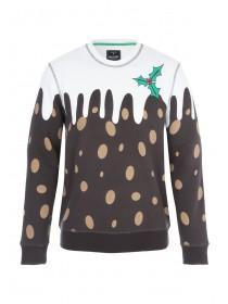 Mens Christmas Pudding Jumper