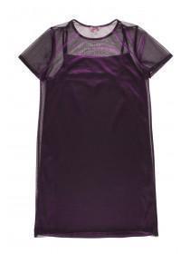 Older Girls Purple 2 Piece Dress Set