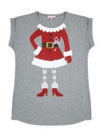 Older Girls Mrs Clause T-Shirt