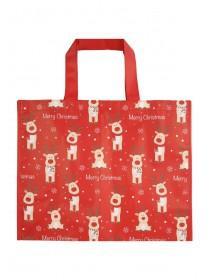 Reindeer Shopping Bag