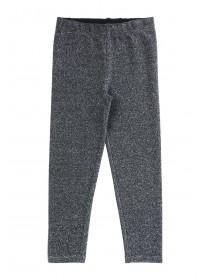 Younger Girls Silver Sparkly Leggings