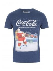 Mens Navy Coca Cola Holidays T-Shirt