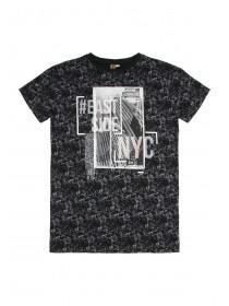 Older Boys Black NYC T-Shirt