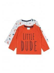 Baby Boys 2pk Fox T-Shirts