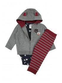Baby Boy 3PC Fox Set