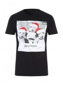 Mens Christmas Storm Trooper Tshirt