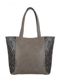 Womens Snake Shopper Bag