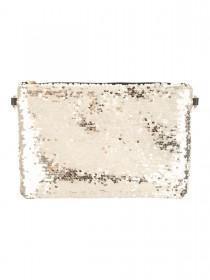 Jane Norman Gold Sequin Clutch Bag