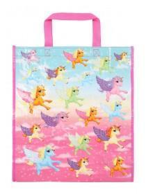 Pink Unicorn Shopping Bag