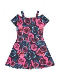 Older Girls Floral Print Dress