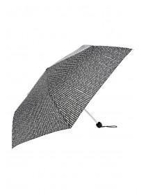 Womens Black Spot Umbrella