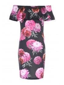 Older Girls Sophie Floral Bardot Dress