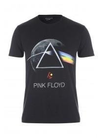Mens Black Pink Floyd T-Shirt