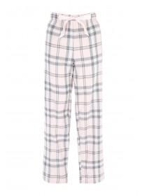 Jane Norman Pale Pink Check Pyjama Trousers