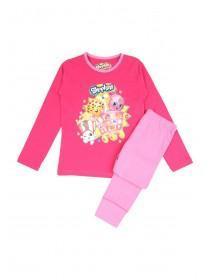 Girls Shopkins Pyjama Set